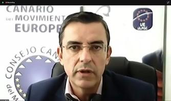 Lucas Andrés Pérez, vice president of the Canary Islands Council of the European Movement
